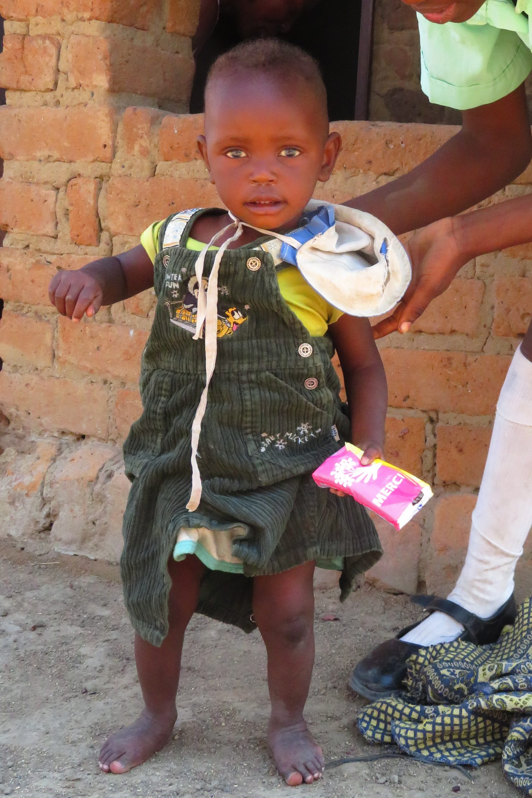 Lebensmittelpakete für Simbabwe